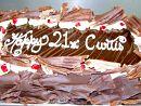 3) Chocolate mudcake slab  Feeds 50