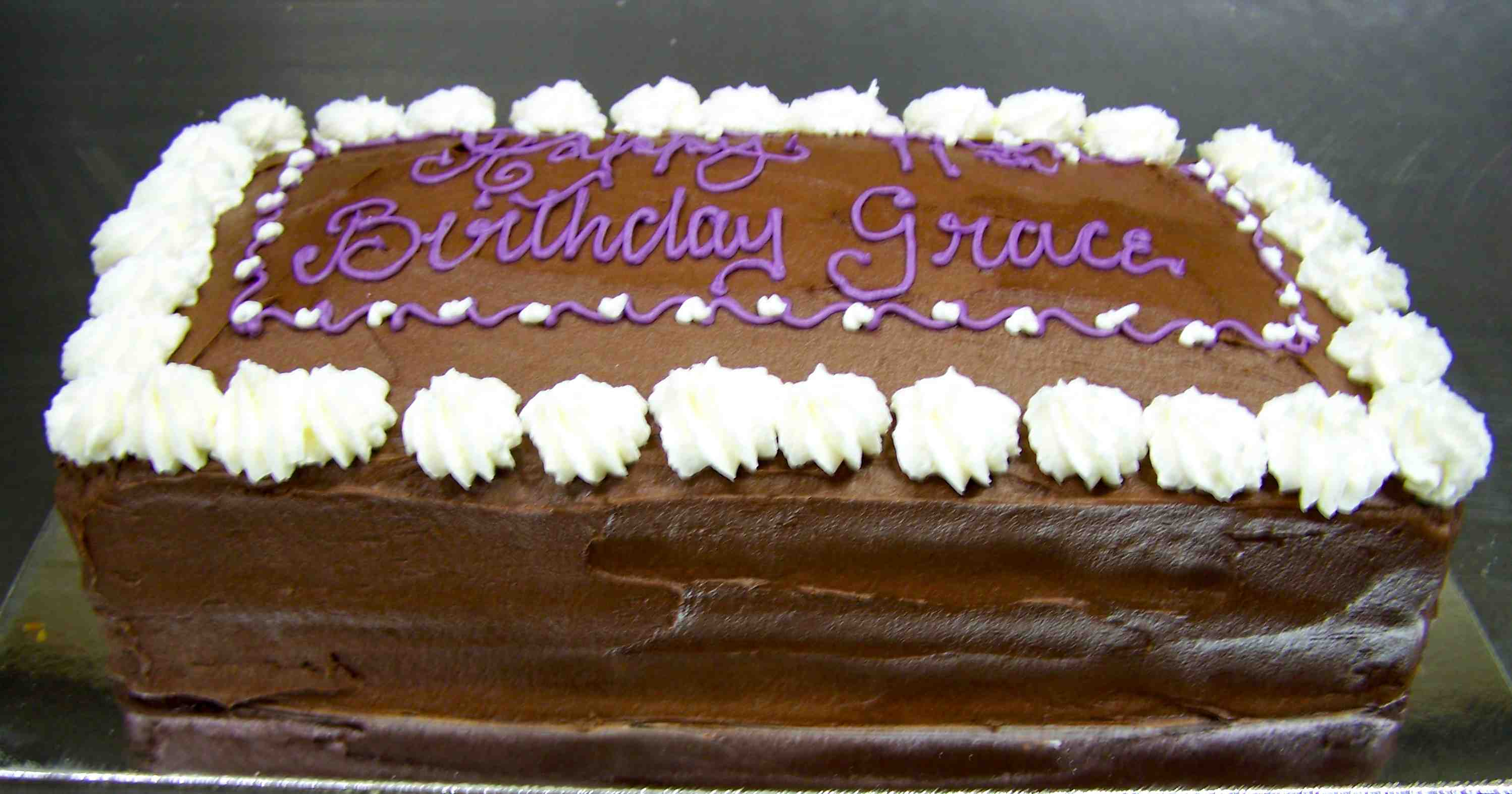 Richies bakery tewantin cooroy special occasion cakes 9 birthday chocolate slab mudcake feeds 40 publicscrutiny Choice Image